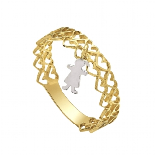 ANEL MENINA OURO 18K AN1751B