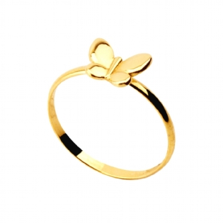 ANEL OURO AMARELO 18K AN1869